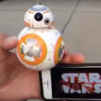 Star Wars BB-8 in action